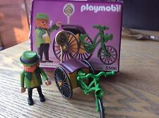Vintage Playmobil 5506 Pretzel Seller, Very Rare And Boxed!1990 Look In My Shop!