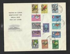 Ersttagsbrief-Briefmarken aus den britischen Kolonien