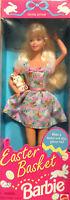 Easter Basket Barbie Doll Mattel Special Edition 1995 New Mattel
