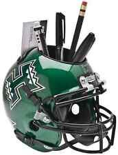 HAWAII WARRIORS NCAA Schutt Mini Football Helmet DESK CADDY