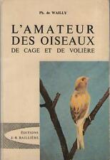 Book the amateur birds of cage and aviary philippe de wailly paul murat