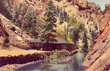 TROUT POOL AND PAVILION AT SEVEN FALLS, SO. CHEYENNE CANON, COLORADO SPRINGS, CO