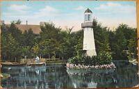 1908 Postcard: Lighthouse-Palmer Park-Detroit, Michigan