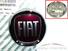 FIAT 500 + L ORIGINALE EMBLEMA LOGO ANTERIORE GRIGLIA ANTERIORE FRONT EMBLEMA SCUDETTO 51932710
