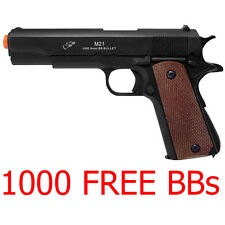 Airsoft Gun M21 1911 Pistol FPS Double Eagle M21B 1:1 Military Style Free BB NEW
