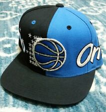 RARE Mitchell & Ness Orlando Magic Script SNAPBACK HAT 2 Tone NBA Cap wrap logo