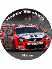 HOLDEN RACING CARS 19CM EDIBLE ICING IMAGE CAKE TOPPER #1