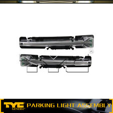 TYC 2pc Parking Light Lamp Assembly Left Right Set For 2010-2014 Ford Taurus