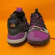 Nike Kobe Exodus Basketballschuhe 2018 LA Lakers Vivid Purple - getragen Gr. 43
