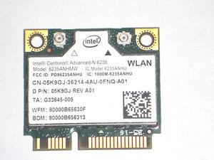LOT OF 2 Dell Optiplex 9020 Wireless Card 05K9GJ 5K9GJ Tested Good