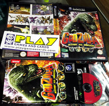 GODZILLA DESTROY ALL MONSTERS MELEE NINTENDO GAMECUBE PAL ESPAÑA COMPLETO