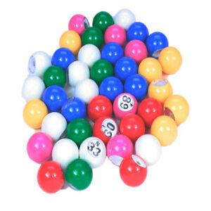 Bingo Balls 22mm 1-90 Lockdown Bingo