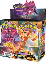 Pokemon DARKNESS ABLAZE Booster Box Factory Sealed Cards 36 Packs PRESALE 8/13