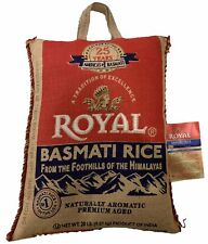 Royal - Basmati Rice - 20 lb Bag.