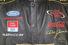 UPS Ford Racing Coca-Cola #88 Dale Jarrett Nascar Winston Leather Jacket Coat XL