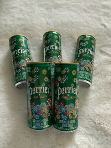 Perrier Takashi Murakami Limited edition carbonated water 250ml cans