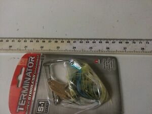 TOP QUALITY RAPALA- TERMINATOR SUPER STAINLESS SPINNERBAIT- PIKE  FISHING LURE