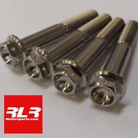 Suzuki gsxr750 1992-1995 Titanium Fork pinch bolt Flanged Hex Cross Drill