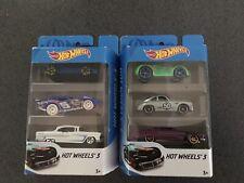 2 x Hotwheels Model Cars 3 Packs  Racing Sports 2020 Series ,including Porsche