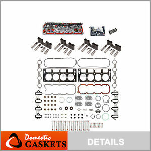 GM Chevy 5.3L AFM DOD Replacement Kit Gaskets Lifters Trays Head Bolts VLOM