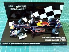 F1 1/43 Red Bull Rb6 Vettel Brazilian GP 2010 Minichamps