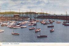 Postcard -  Paignton, The Harbour   ( Ref B4)