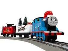 LIONEL # 6-85324 Thomas & Friends Christmas Freight LionChief Set with Bluetooth