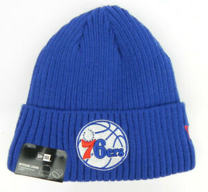 PHILADELPHIA 76ERS SIXERS KNIT BEANIE CAP HAT NEW ERA MANY COLORS TO CHOOSE NWT!