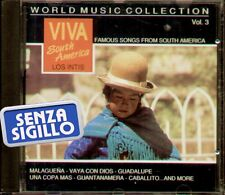 """VIVA SOUTH AMERICA """" LOS INTIS """" FAMOUS SONGS FROM SOUTH AMERICA """" CD NUOVO 1992"""