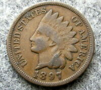 UNITED STATES 1897 CENT INDIAN HEAD