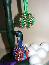Childrens Make Your Own Pinflair Sequin Xmas Baubles Christmas Tree Decorations