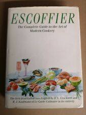 Escoffier - The Complete Guide to the Art of Modern Cookery hardback book