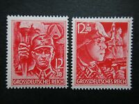 Germany Nazi 1945 Stamps MNH Elite Storm Trooper WWII Third Reich 12th anniv of