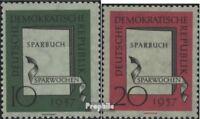 DDR 598-599 (kompl.Ausg.) gestempelt 1957 Sparwochen