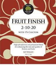 Age Old Organics Dry Fruit Finish (2-10-20) 1lb or 5lb Certified 100% Organic