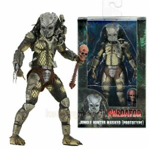 "NECA Alien Hunter Prototype 7"" Figure Toy Xmas Model Gift Predator Jungle Hot"