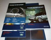 2011 RANGE ROVER SPORT OWNERS MANUAL SET 11 GUIDE +case LUX HSE SUPERCHARGED