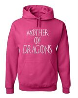 Hooded Sweat Hoodie Mother of Dragons Pink Game of Thrones