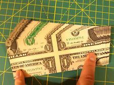 Mis-Made Dollar Bill Precision Hand-Cut Torn & Restored Magic Trick $1 Mismade