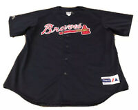 Vintage 90s Atlanta Braves Jersey by Majestic Made in USA Authentic Men's XXL