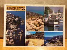 Israel Tiberias 1995 Postcard