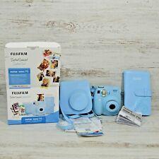 Fuji Film Instax Mini 7S Instant Camera Bundle Light Blue