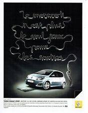 Publicité Advertising 078  2008   la Twingo Renault sport 1.6 *