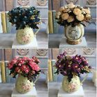 9 Flower Heads Camellia Silk Flowers Home Wedding Party Decor Bridal Gift