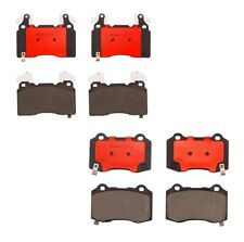 Front and Rear Brembo Ceramic Brake Pad Set Kit for Chevrolet Camaro SS ZL1 6.2L