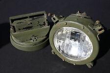 1 Scheinwerfer NVA LKW Gaz Uaz Sil Ural SPW Headlights Truck Russian Army Tank