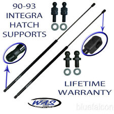 2 New Rear Hatch Hatchback Lift Supports Shock Trunk Rod Arm For 90-93 Integra
