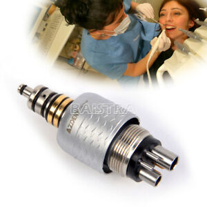 AZDENT Dental Roto Quick Style Quick Coupling For Fiber Optic Handpiece 6 Holes