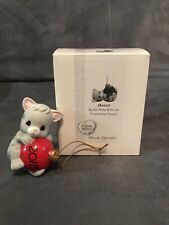 Precious Moments May Your Holidays Be Purr-Fect Dated 2018 Cat Ornament 181007