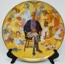 "Norman Rockwell Plate ""Remembered"""